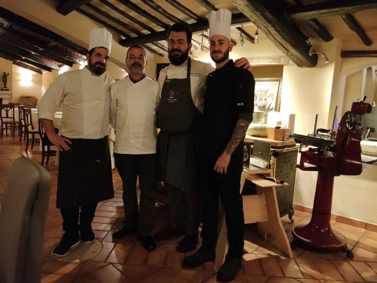 osteria moderna con ottima cucina a roma