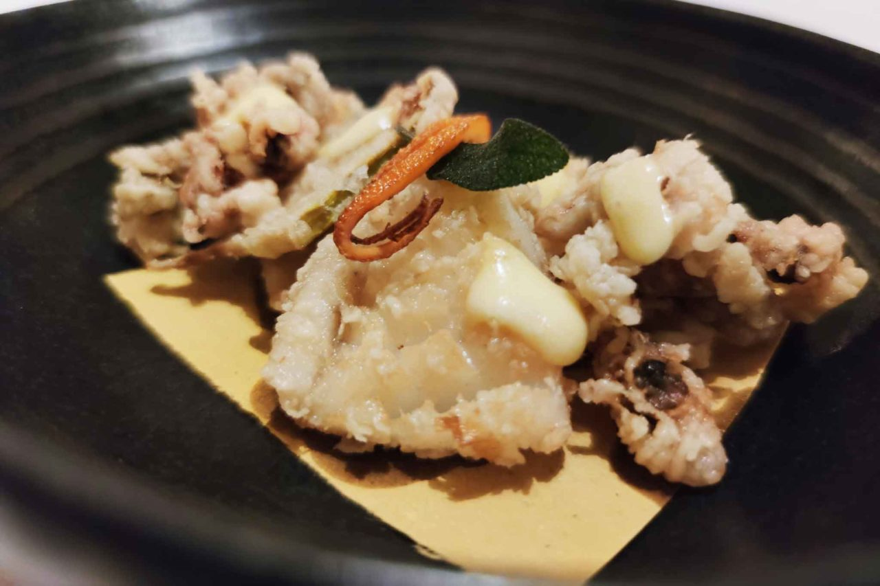 ristorante con frittura di pesce a roma