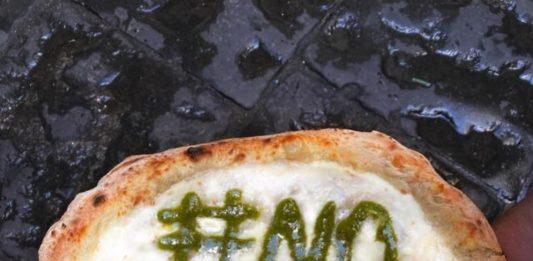 Gino Sorbillo pizza Coronavirus pesto verde