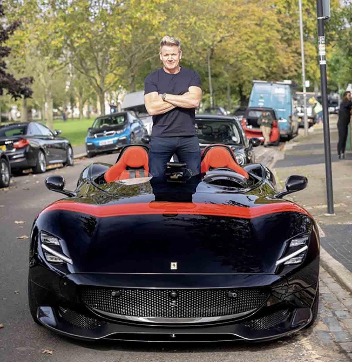 Gordon Ramsay Ferrari