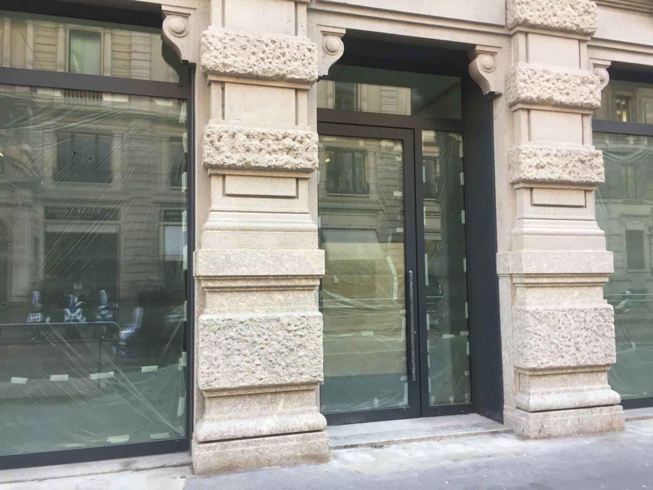 Pasticceria Baunilla Milano lavori in corso italia