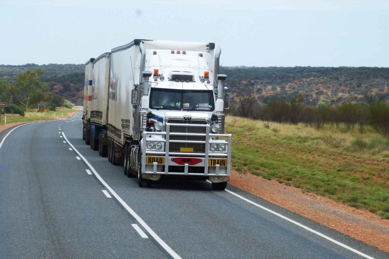 camion merci per il delivery