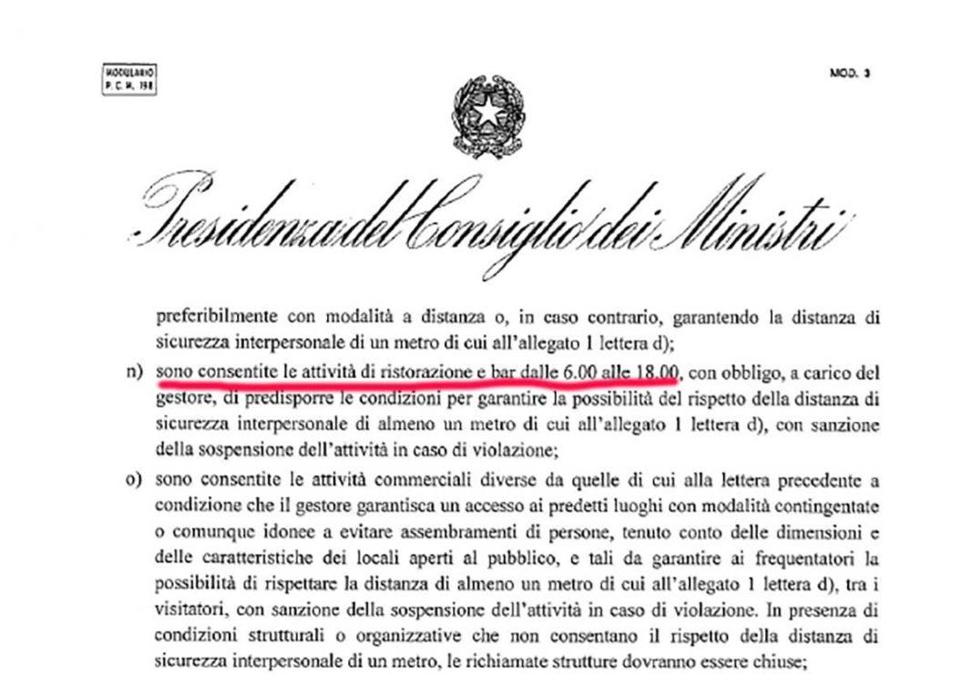 Coronavirus Divieto Di Cena Nei Ristoranti In Zona Rossa Per Decreto