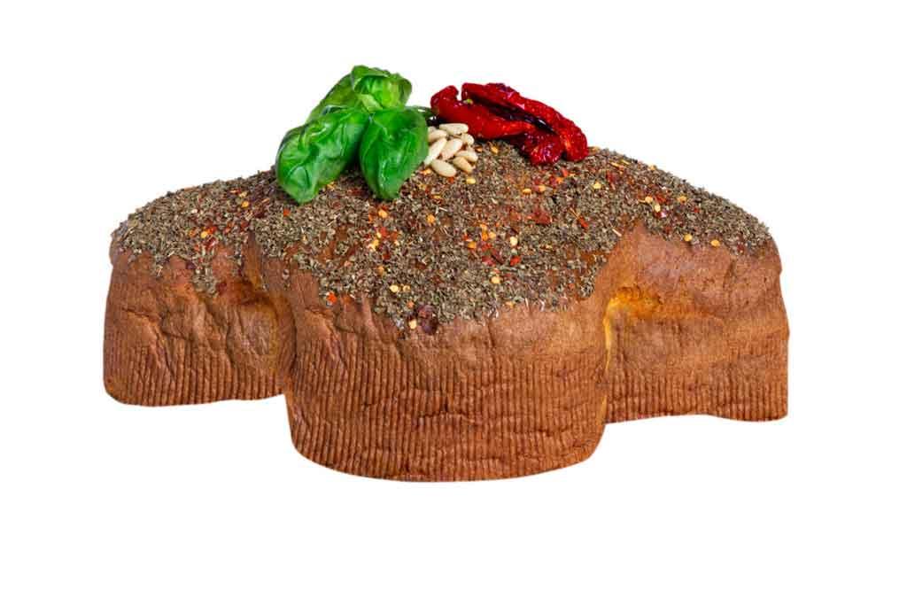 pasticceria de vivo colomba salata pesto pomodori