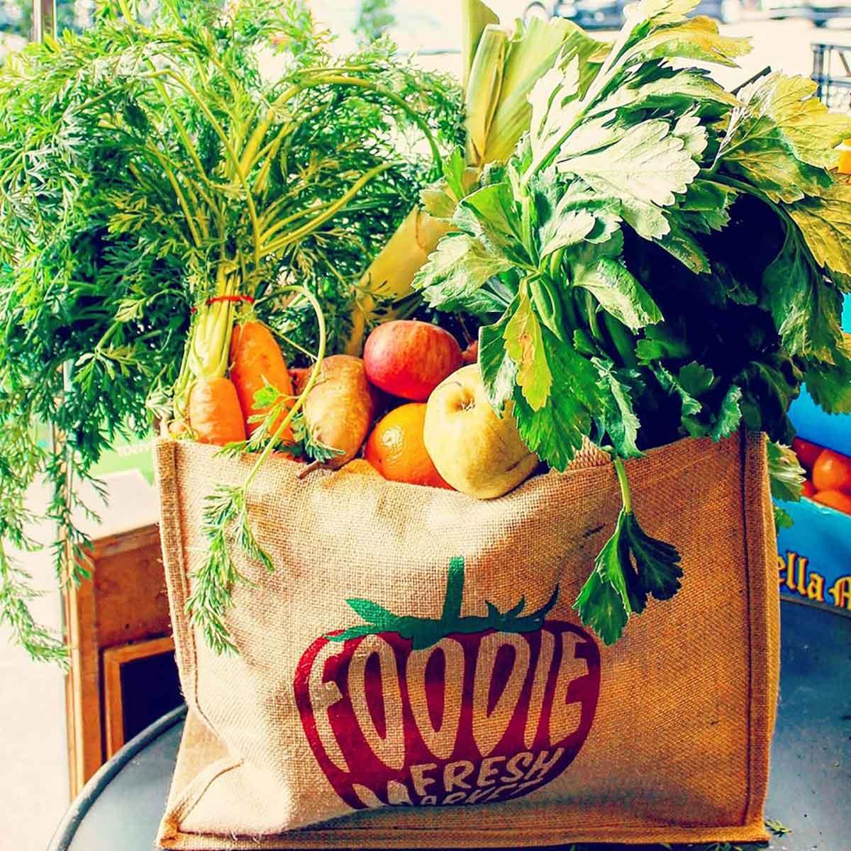 delivery di frutta e verdura a Roma