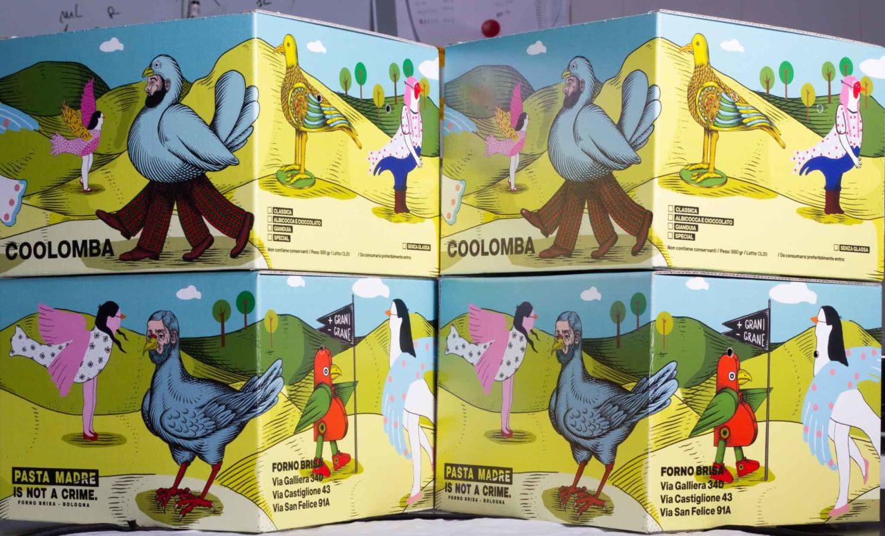 forno brisa bologna confezione colombe di Andrea Casciu e Kiki Skipi