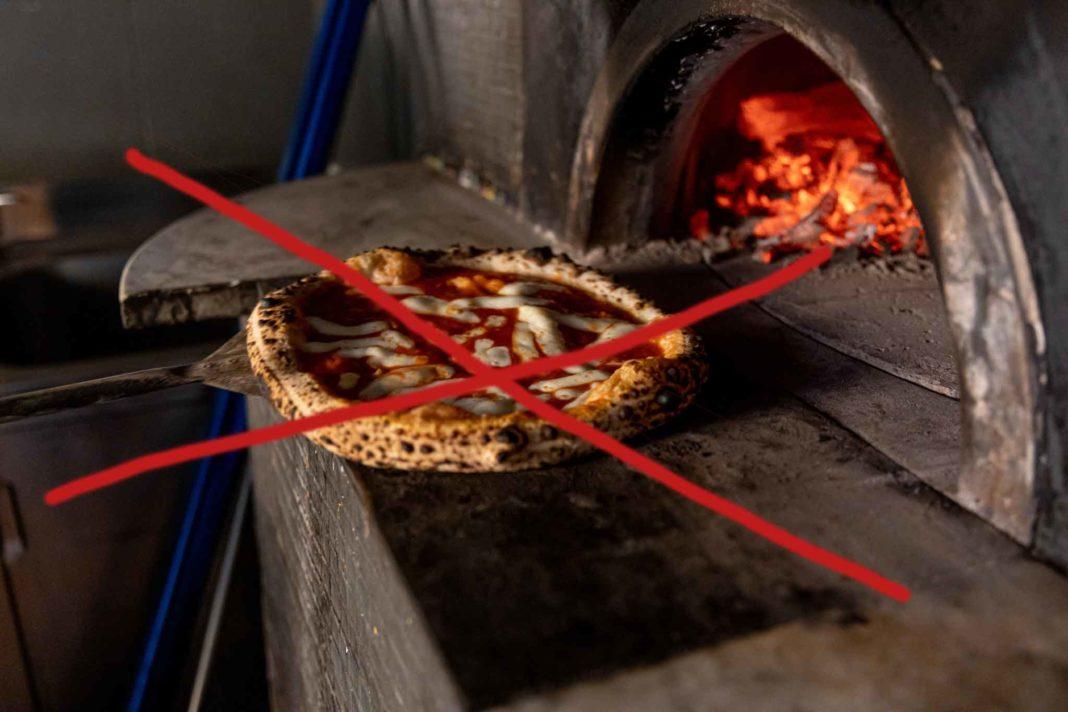 pizza vietata