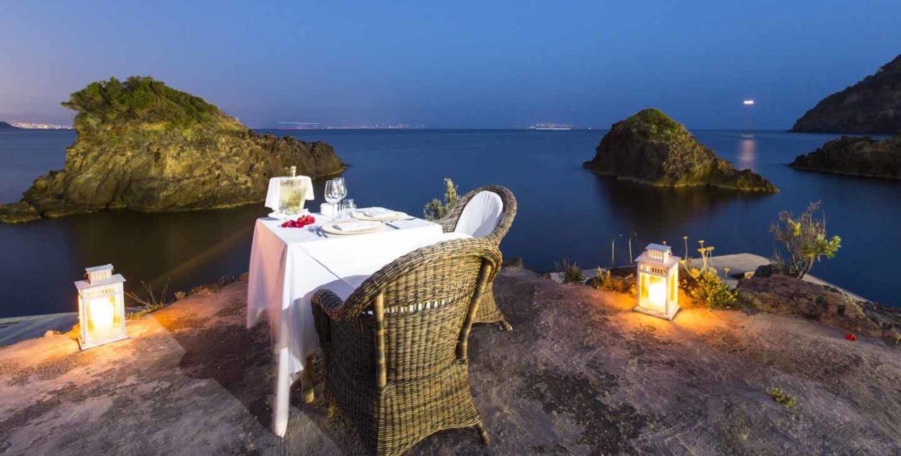 tavolo ristorante mare