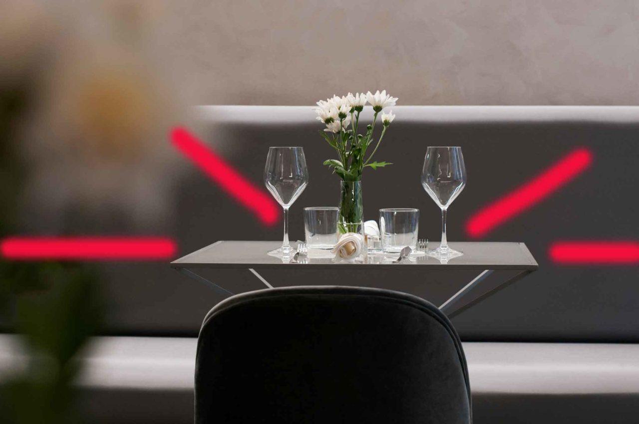 distanze dei tavoli