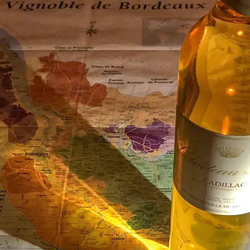 ristorante con ottimi vini francesi e delivery