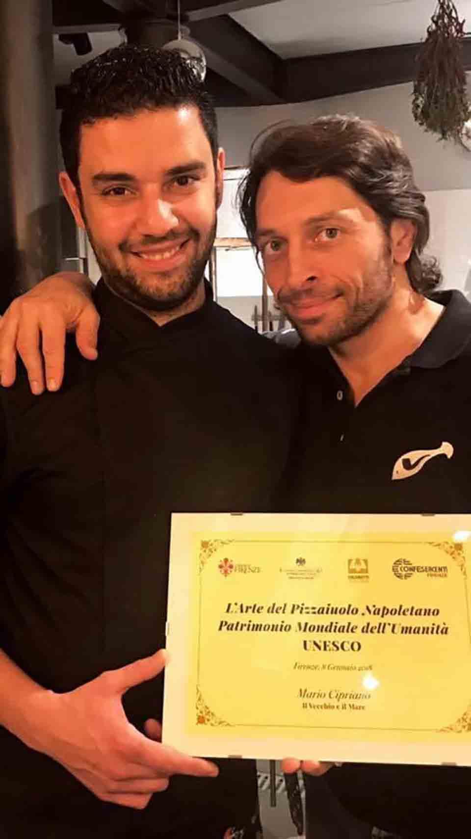 Mario Cipriano e Pasquale Naccari