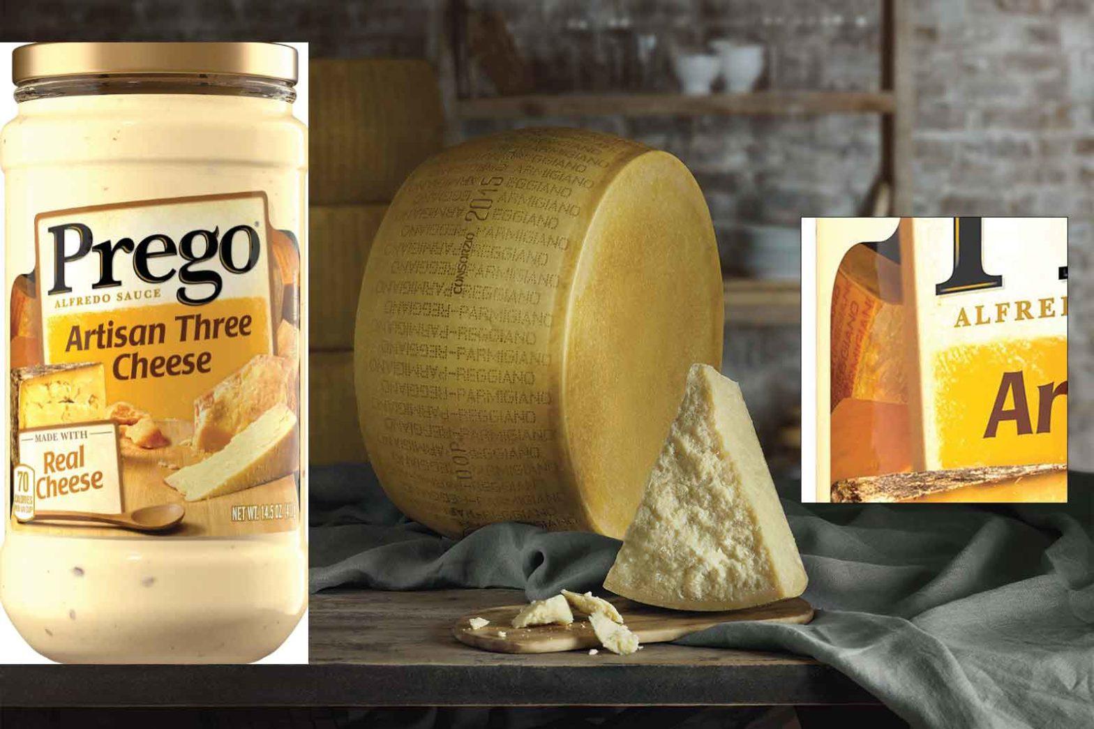 parmigiano Reggiano vs Campbell's
