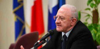 Vincenzo De Luca Presidente della Regione Campania