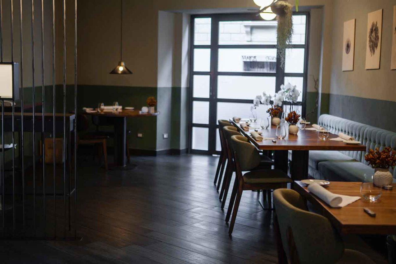 L'interno di Zia Restaurant a Roma