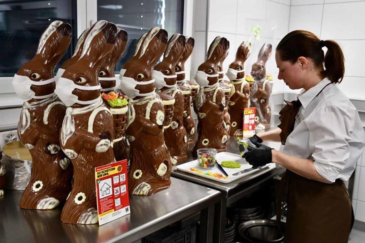 coniglietti di cioccolato