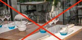 ristoranti chiusi per coronavirus