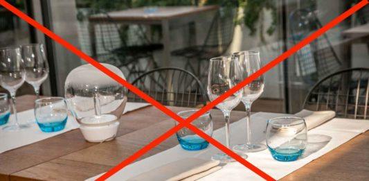 lockdown totale e ristoranti chiusi per coronavirus