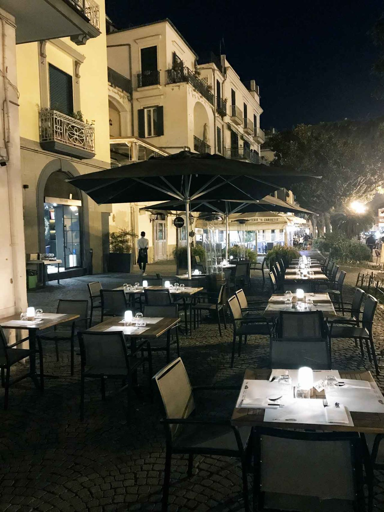 dehors pizzeria Pignalosa Salerno