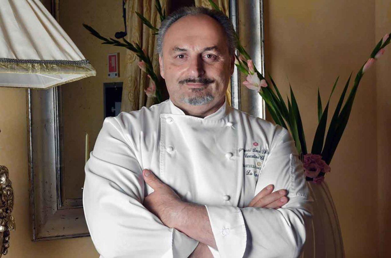 Giovanni Luca di Pirro chef de La Torre stella Michelin
