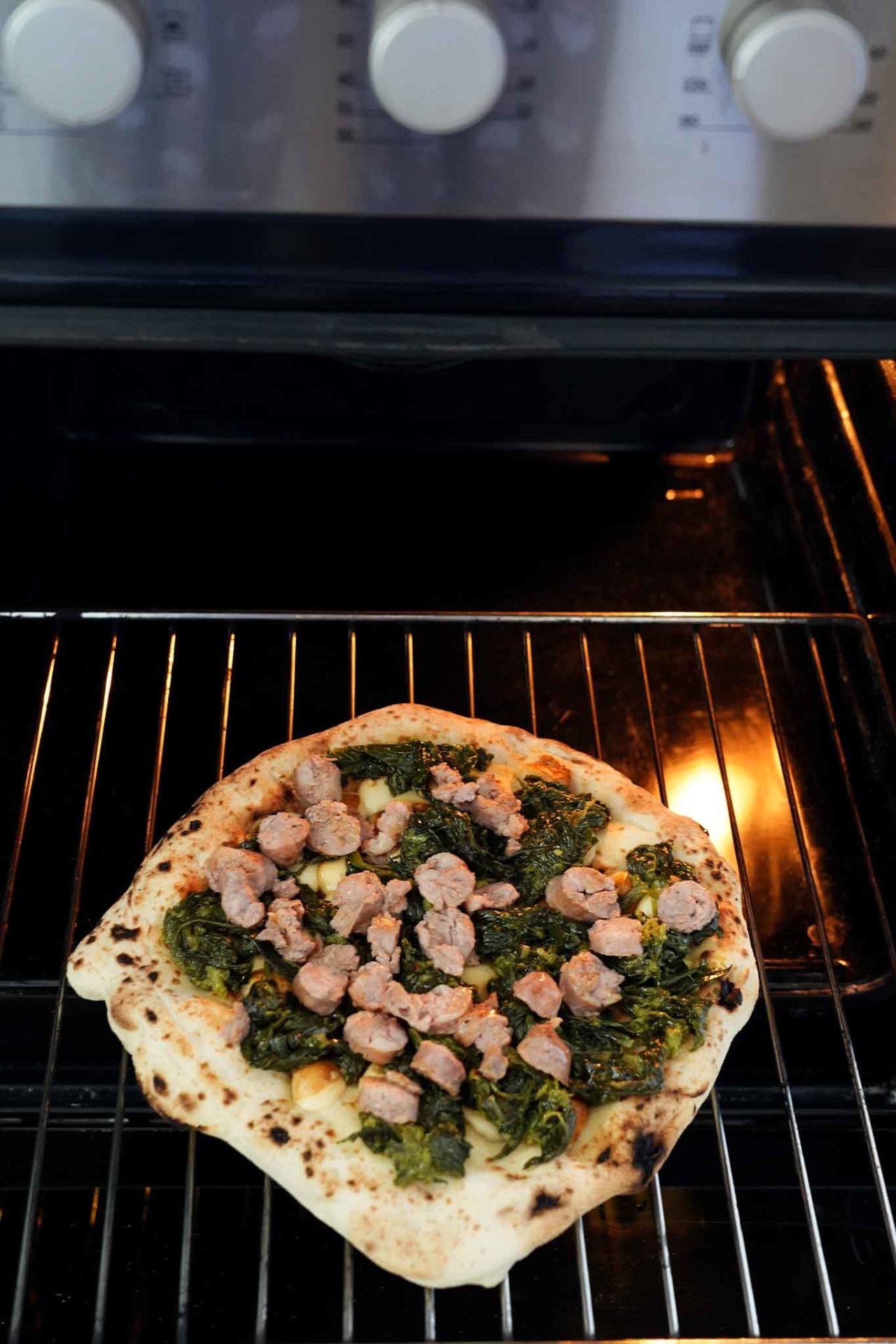 pizza a casa forno