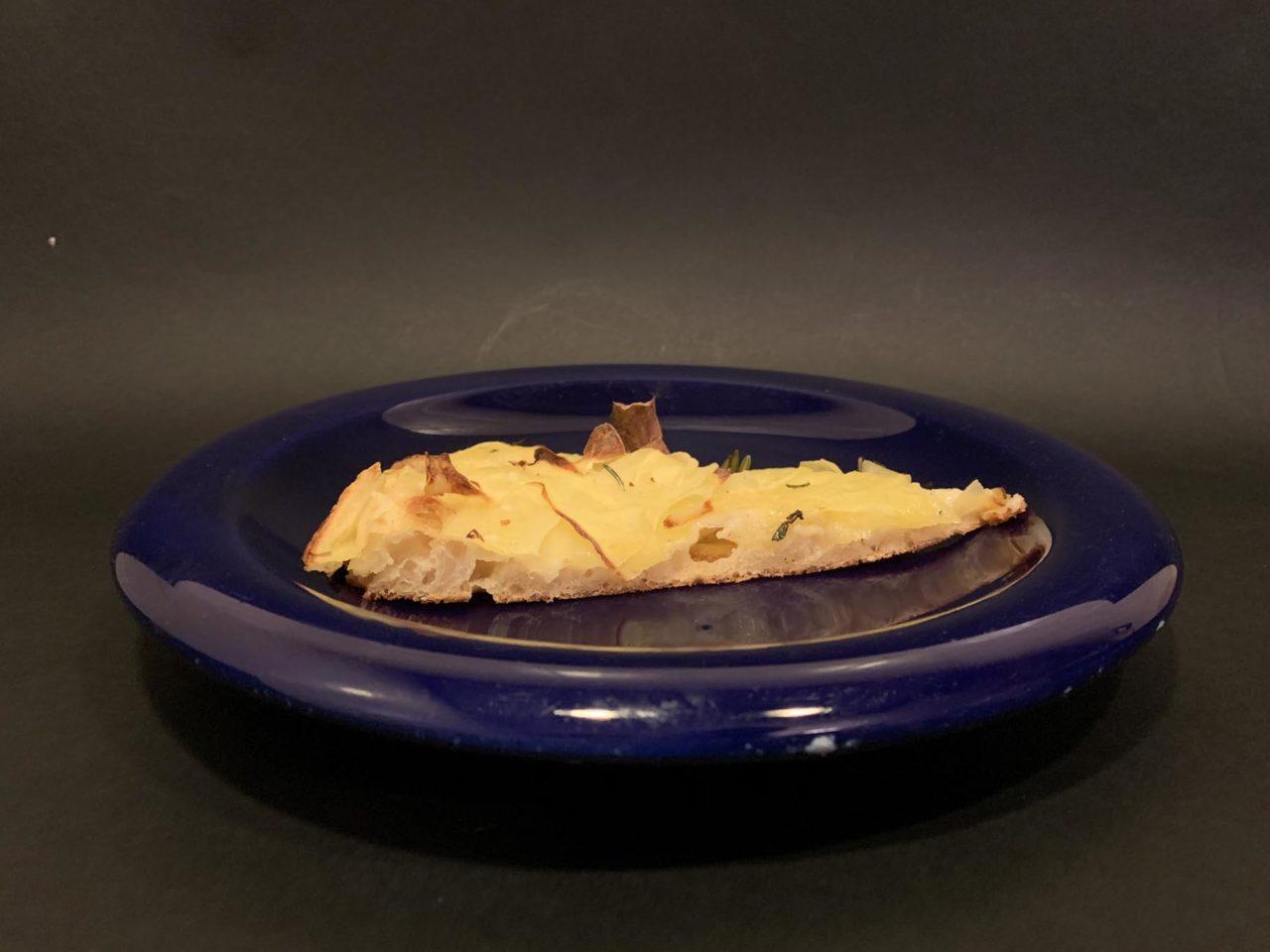 trancio di pizza lievitazione naturale acqua fermentata