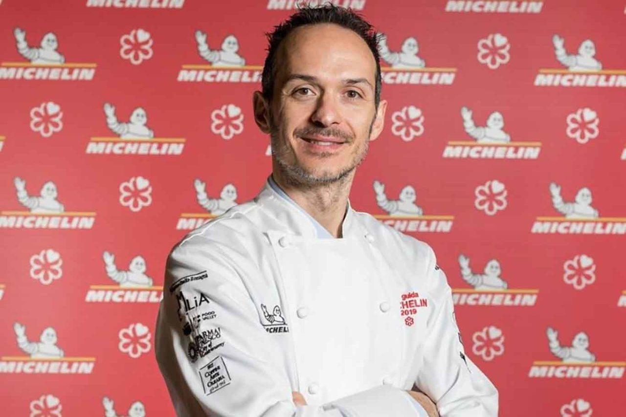 Maurizio BArdotti chef del ristorante Al43 a San Gimignano