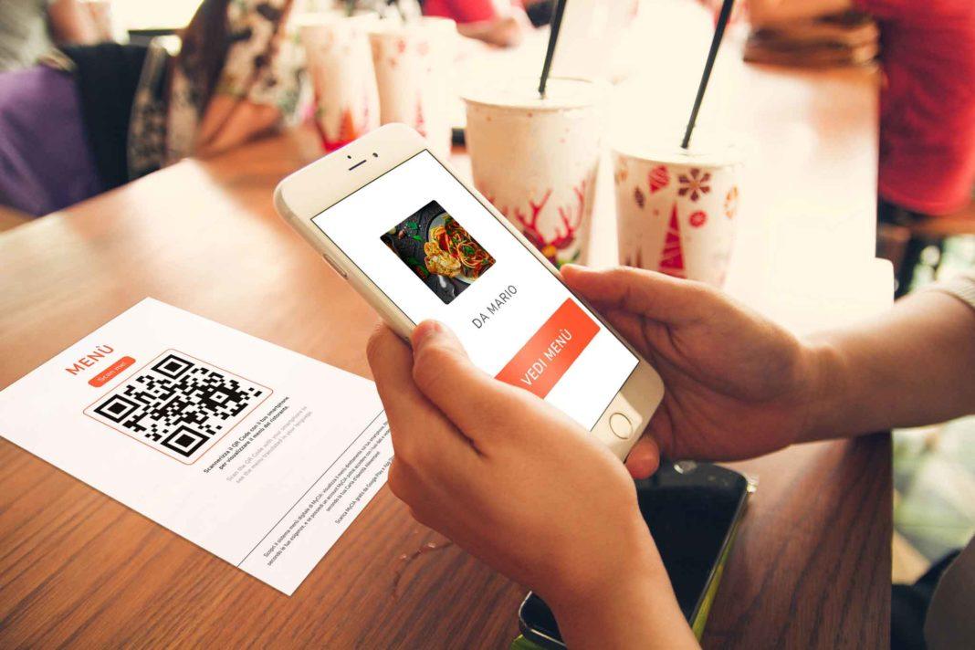 my contactless menu app con qrcode per ristoranti