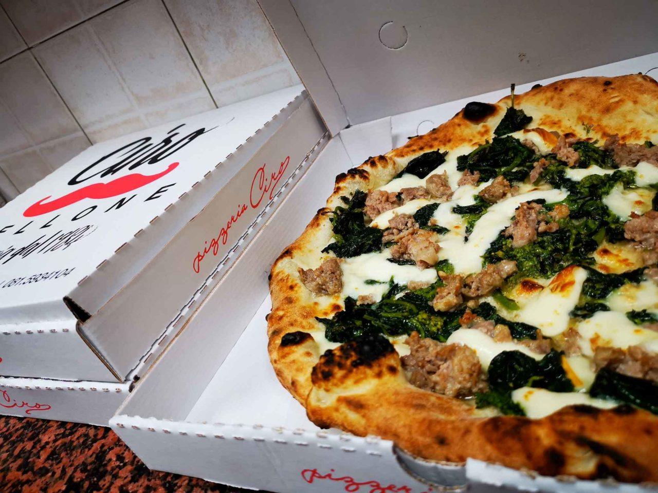 pizza da asporto Ciro Pellone