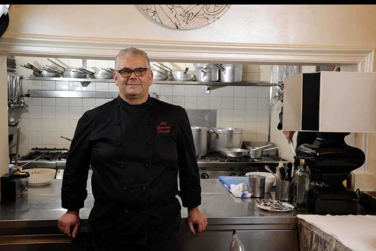 Gioacchino Pontrelli chef del ristorante Lorenzo a Forte dei Marmi