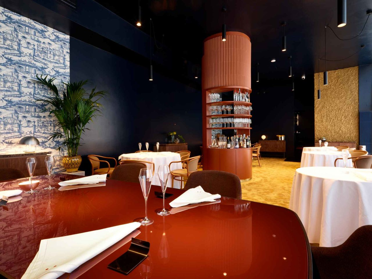 sala ristorante Eugenio Boer Milano