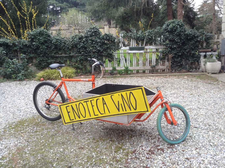 enoteca vino milano biciclettta rider