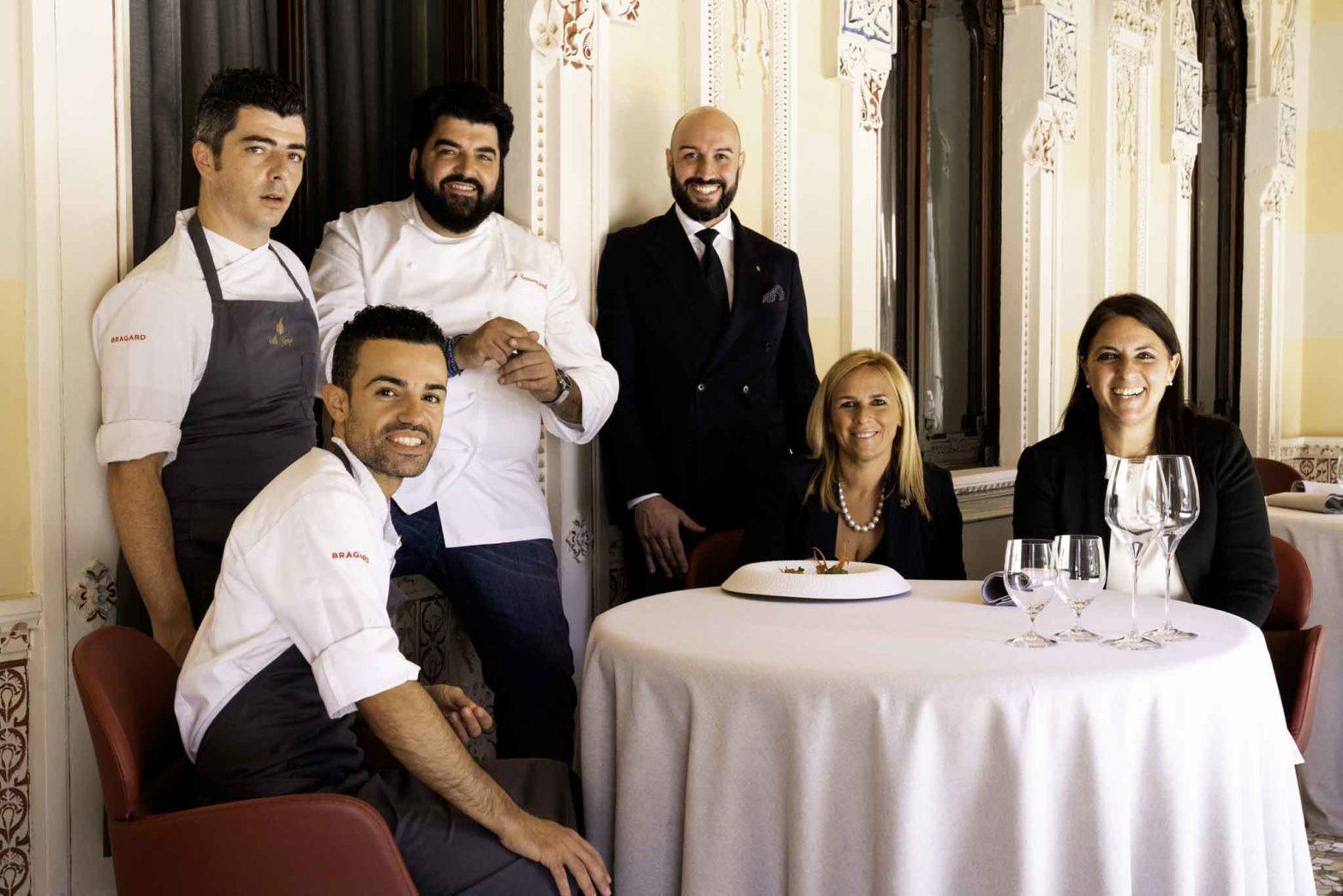 Antonino Cannavacciuolo staff