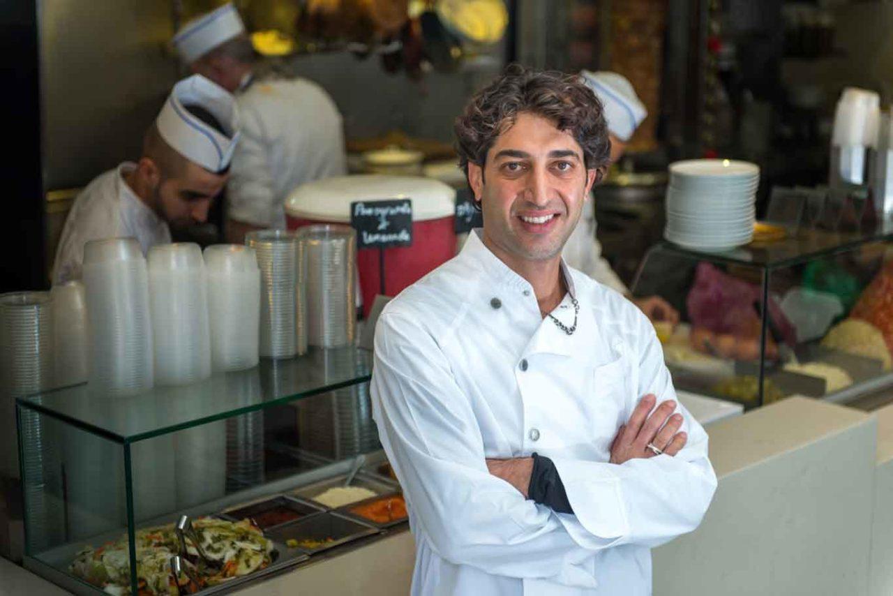 Ariel Rosenthal chef Hakosem Tel Aviv