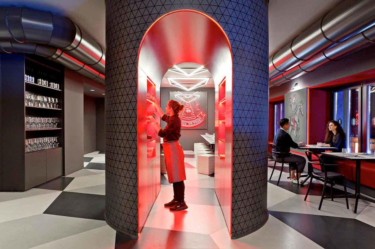 Pizzeria Briscola designer Fabio Novembre