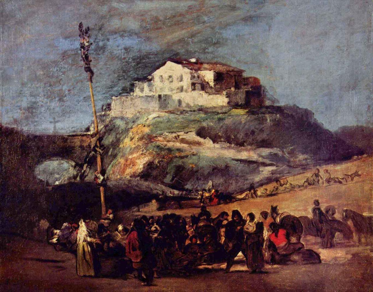 albero della cuccagna Goya
