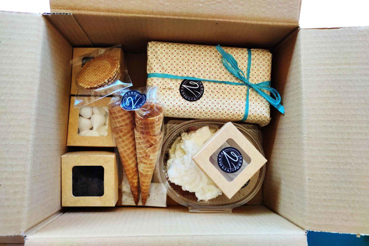 box gelato con consegna a domicilio