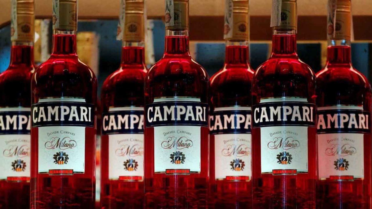 bottiglie di Campari