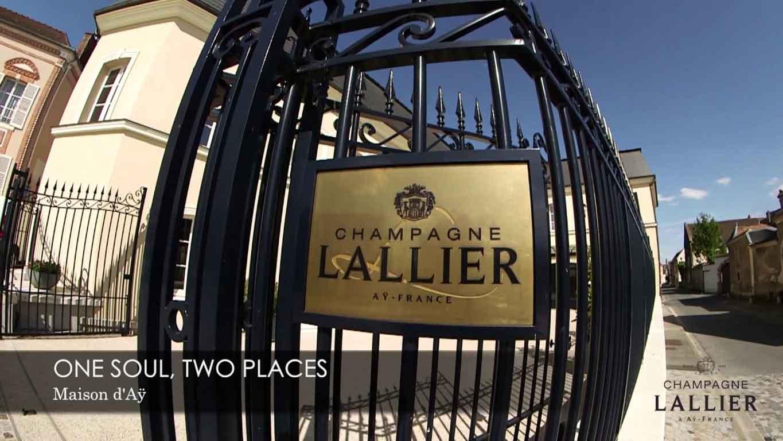 Sede della Maison Lallier ad Aÿ, Champagne