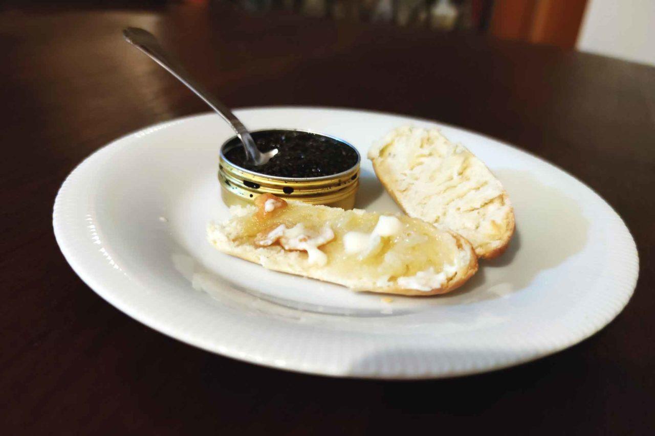 Caviale di semi di chia e burro