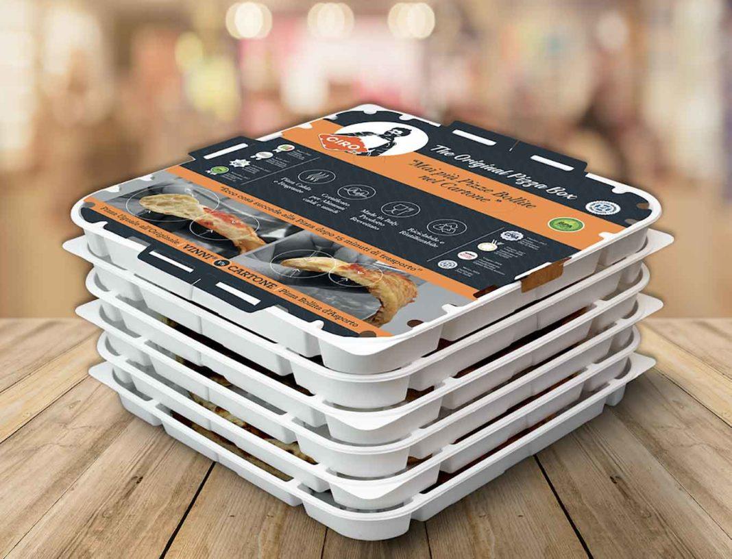 contenitori pizza asporto Da Michele