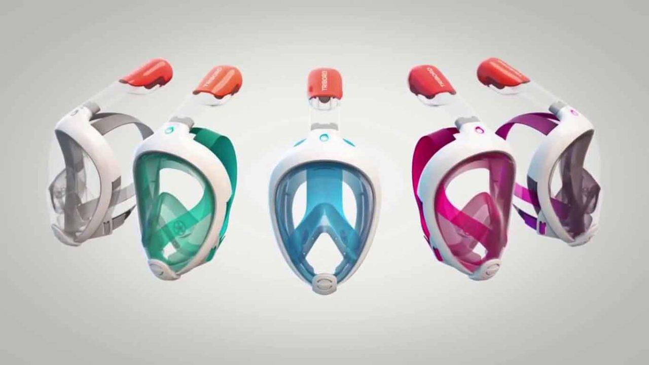 maschere snorkel usate contro il coronavirus