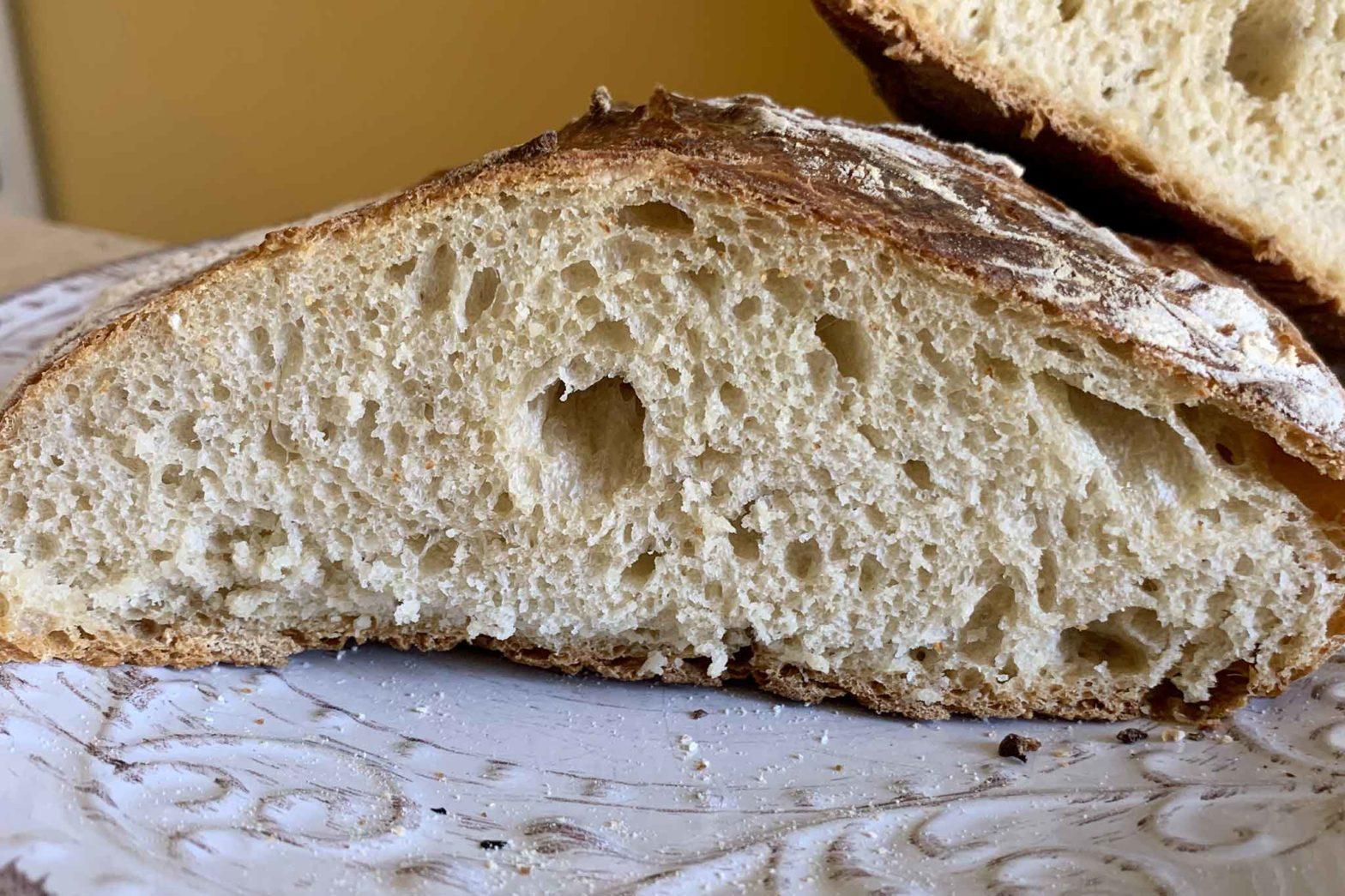 pane senza impasto ricetta