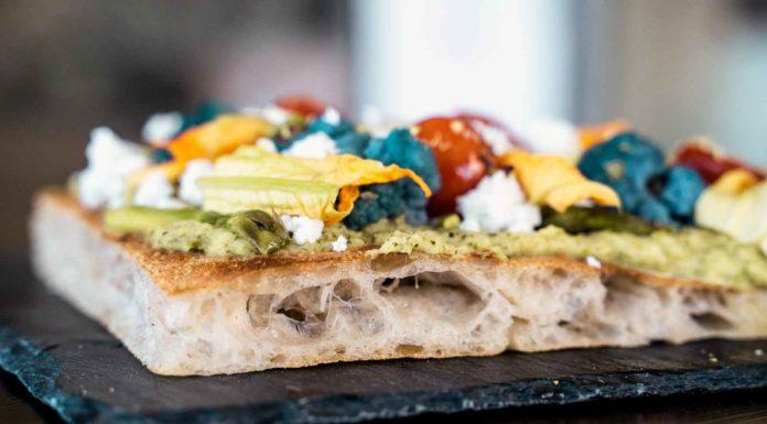 pizza in teglia delizie di stagione Rosario Giannattasio Crunch