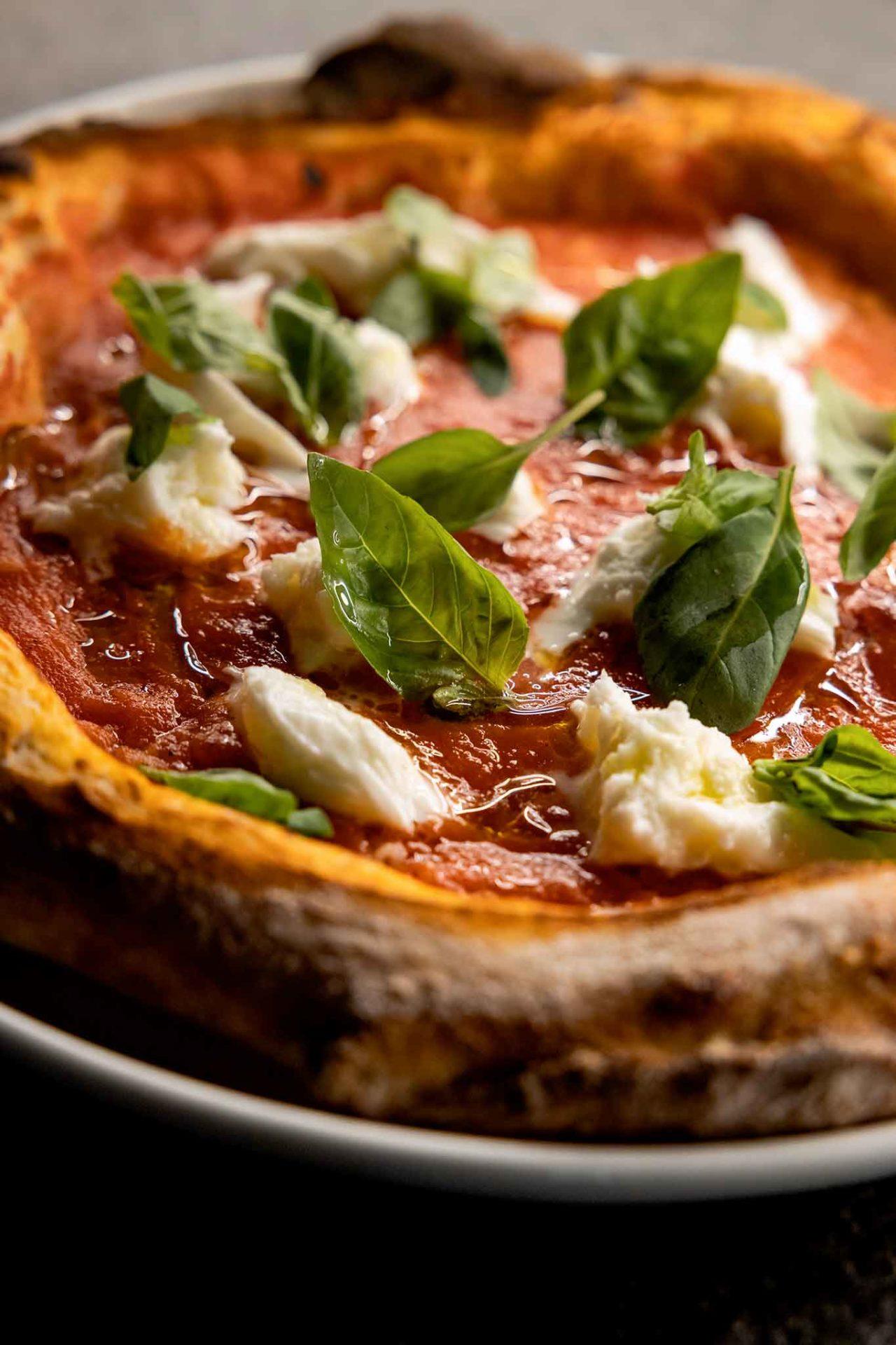 pizza con bufala