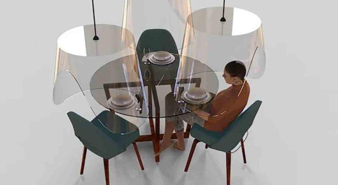 plexiglass ristorante