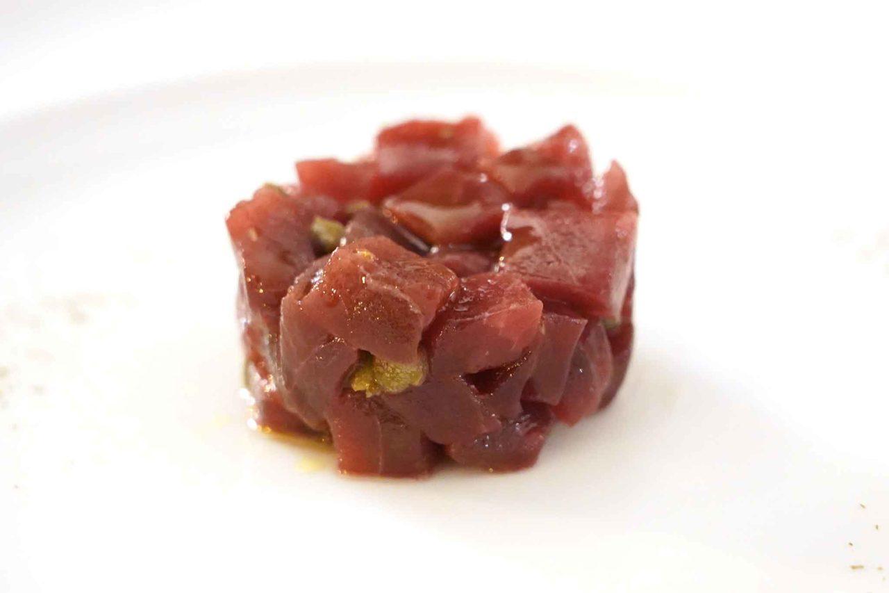tartare di tonno