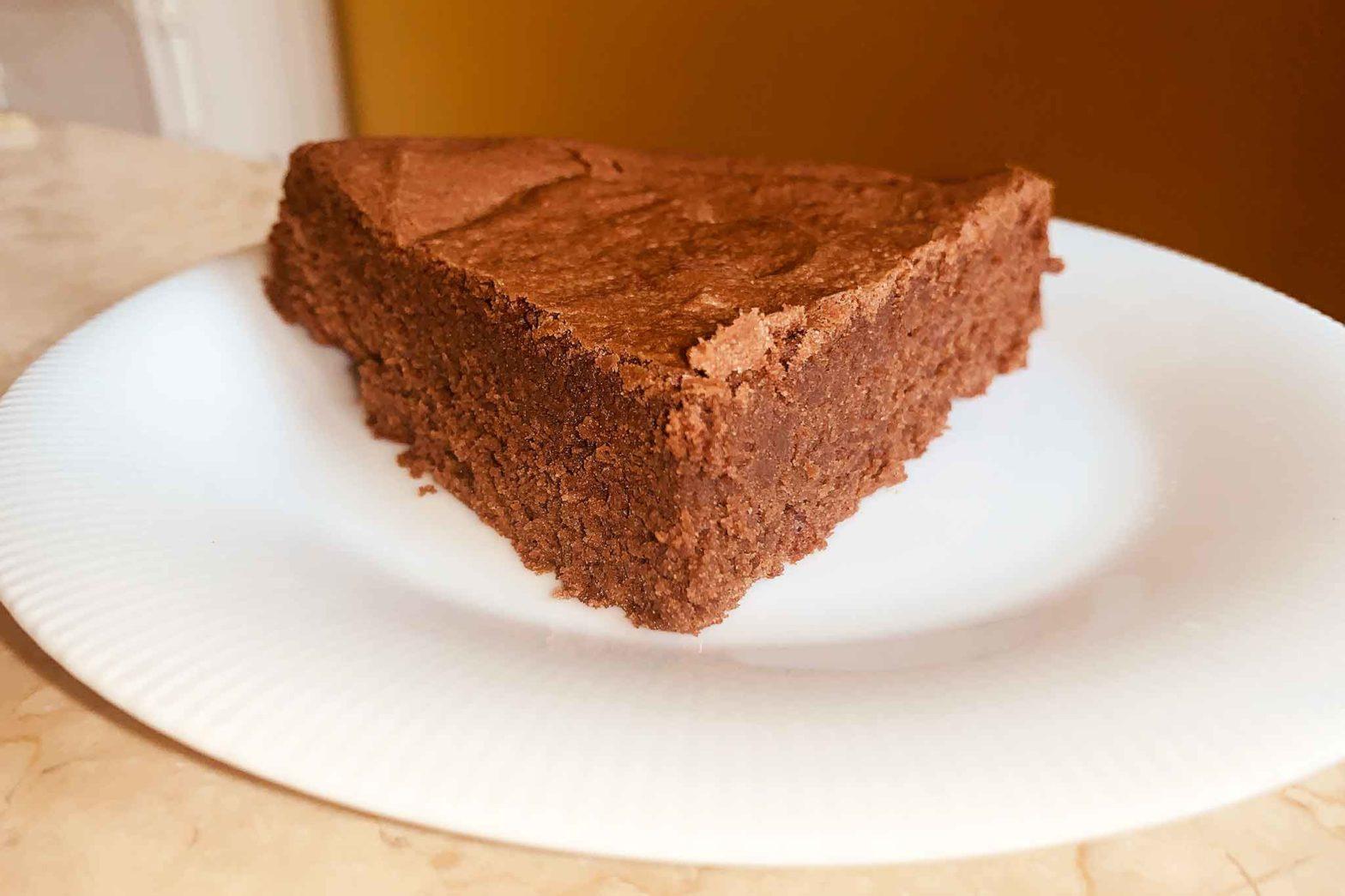 torta tenerina al cioccolato