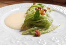 zucchinella alla carbonara ricetta