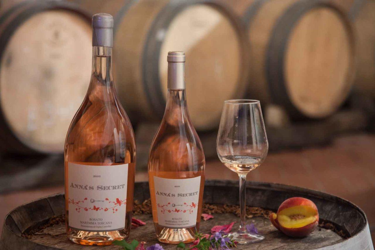 Anna's Secret vino rosé di Maremma