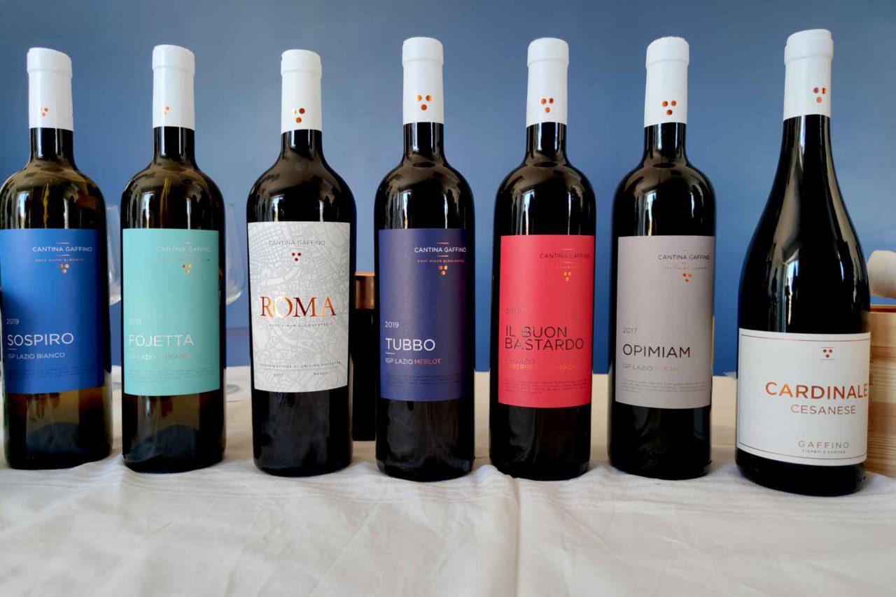 Vini biologici cantina Gaffino